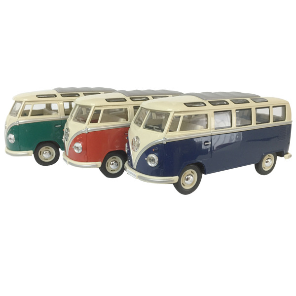 1962 VW Kombi Samba Bus diecast - window box - 3  Assorted