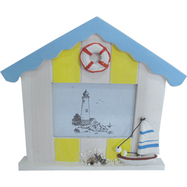 Beach Hut Photo frame Small