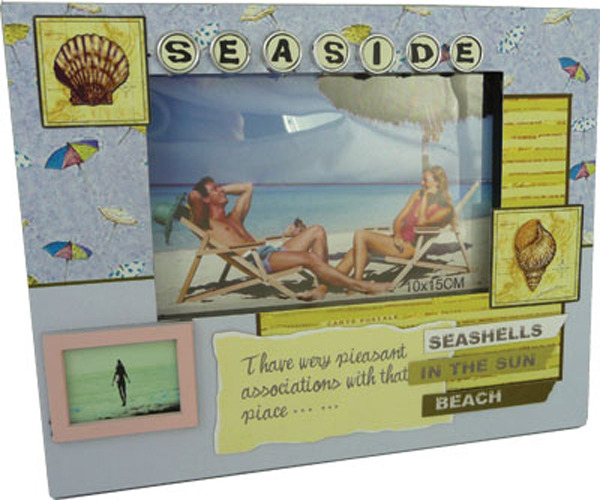 Beachlife Photo Frame - Seaside (6x4)