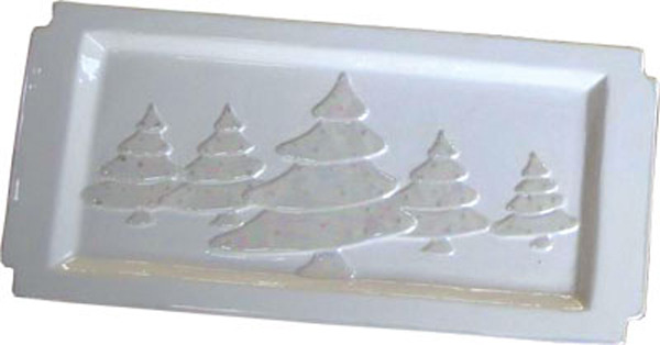 Christmas tree Platter 19.5cm x