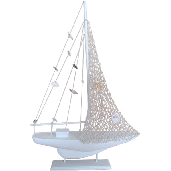 Fishnet Sailing Yacht  White