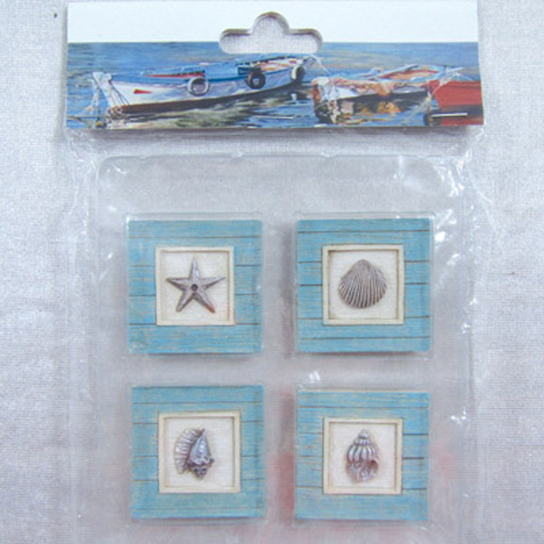 Fridge Magnet (S4) - Shells Shadow Box 44x44cm