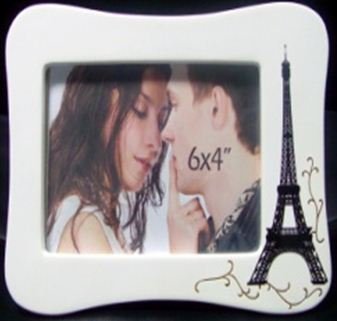 Photo Frame Paris Landscape curved side