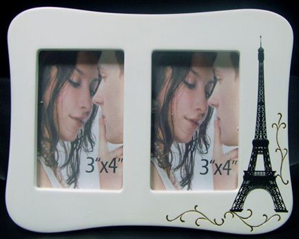 Photo Frame ParisLandscape Twin Curved