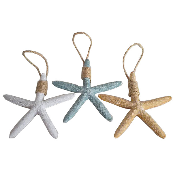Starfish with string white