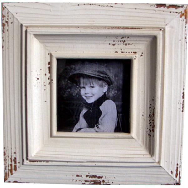 White Wooden Photo frame 20cm