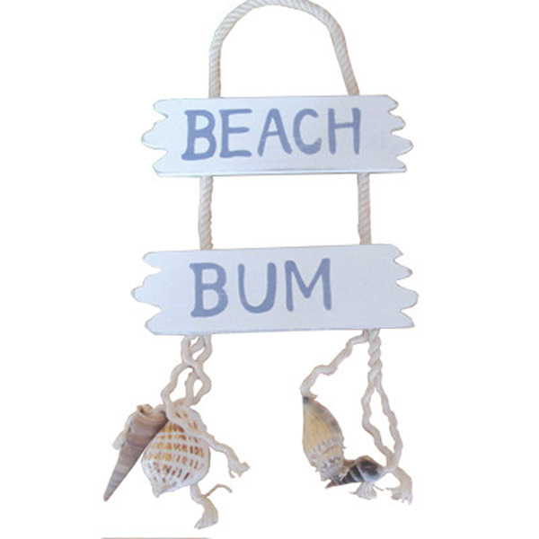Beach Bum Sign 26cm